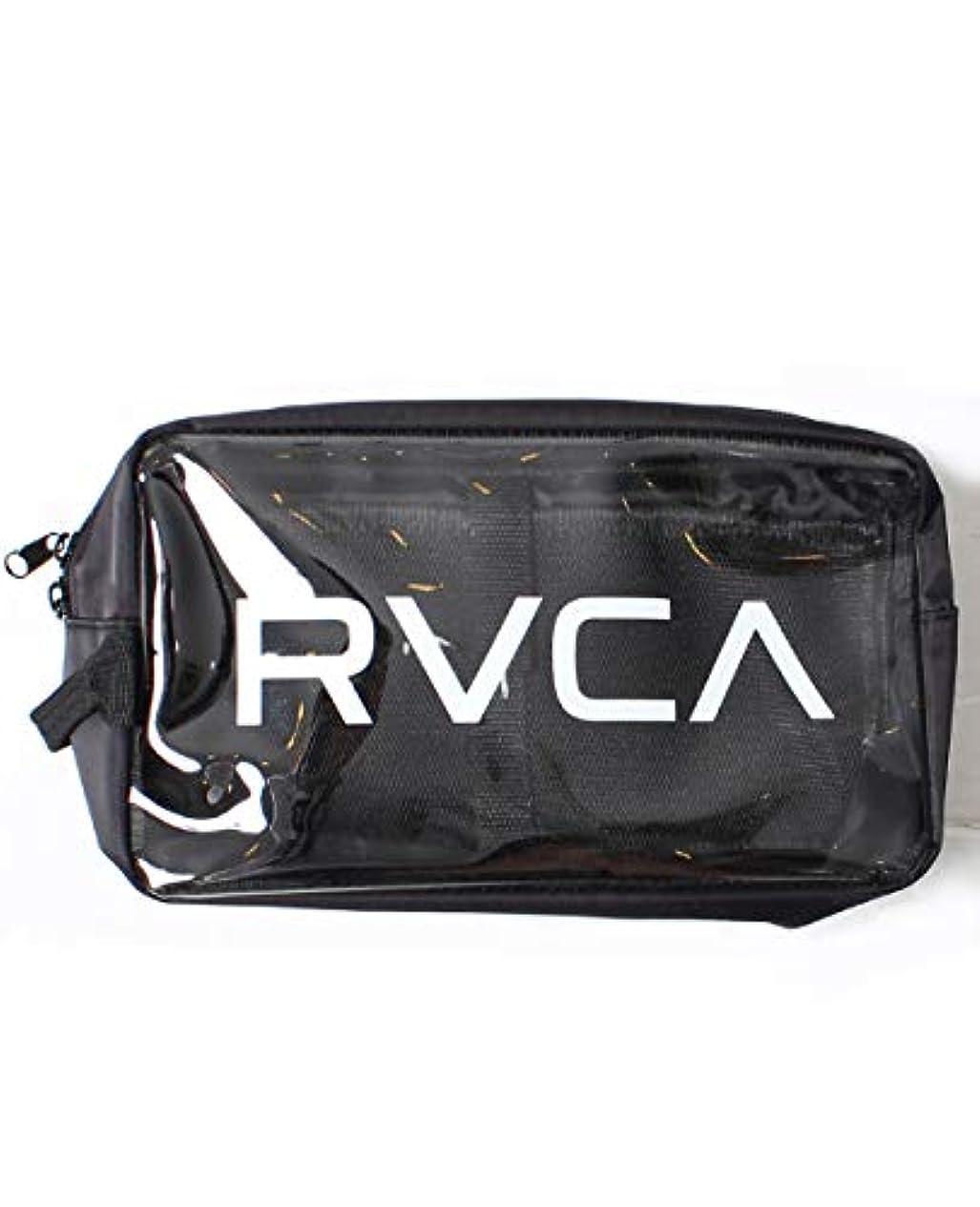 パシフィック征服実現可能RVCA ルーカ クリアポーチ バッグインバッグ フェス メンズ レディース かばん 化粧ポーチ ストリート AJ041-M91