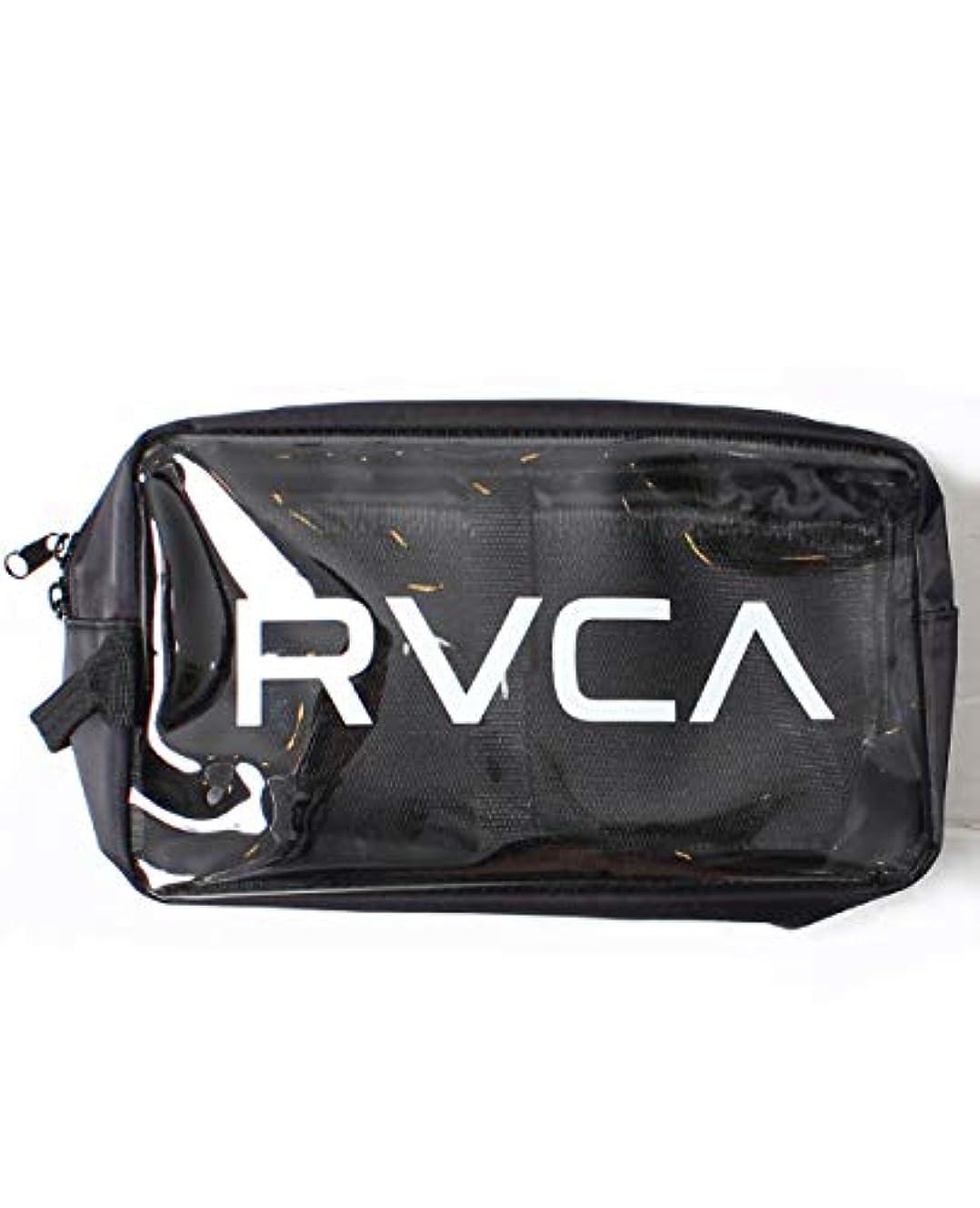 魔術師キャンペーン頼るRVCA ルーカ クリアポーチ バッグインバッグ フェス メンズ レディース かばん 化粧ポーチ ストリート AJ041-M91