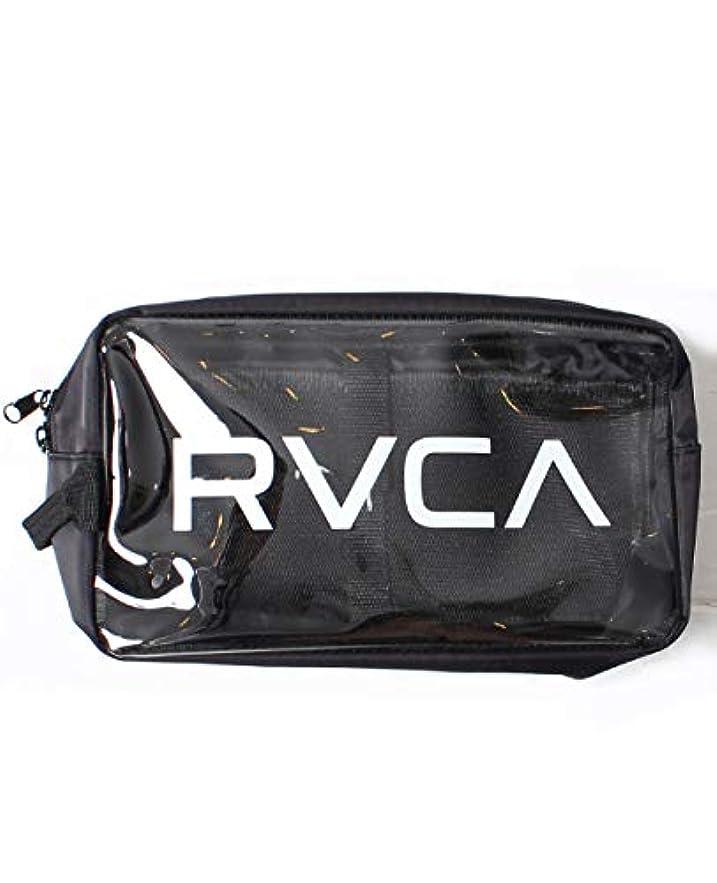 RVCA ルーカ クリアポーチ バッグインバッグ フェス メンズ レディース かばん 化粧ポーチ ストリート AJ041-M91
