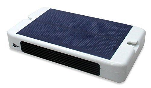 <花粉、PM2.5除去>車載用ソーラー空気清浄器(ソーラー、充電電池、カーシガー電源)...