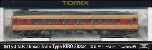 TOMIX Nゲージ 8416 国鉄ディーゼルカー キロ28-2300形