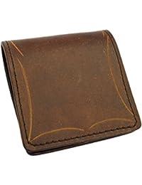 ボックス型 レザーコインケース 革 カービングクラフト メンズ レディース