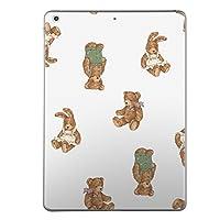 第1世代 iPad Pro 12.9 inch インチ 共通 スキンシール apple アップル アイパッド プロ A1584 A1652 タブレット tablet シール ステッカー ケース 保護シール 背面 人気 単品 おしゃれ 動物 熊 うさぎ 010194