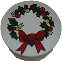 ミニチュア ドールハウス クリスマス X22 額皿
