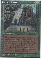 Magic: the Gathering - Sylvan Library - Fourth Edition