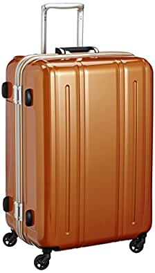 [エバウィン] 軽量スーツケース Be Light 静音キャスター 容量82L 縦サイズ69cm 重量4.2kg 31226 OR オレンジ オレンジ