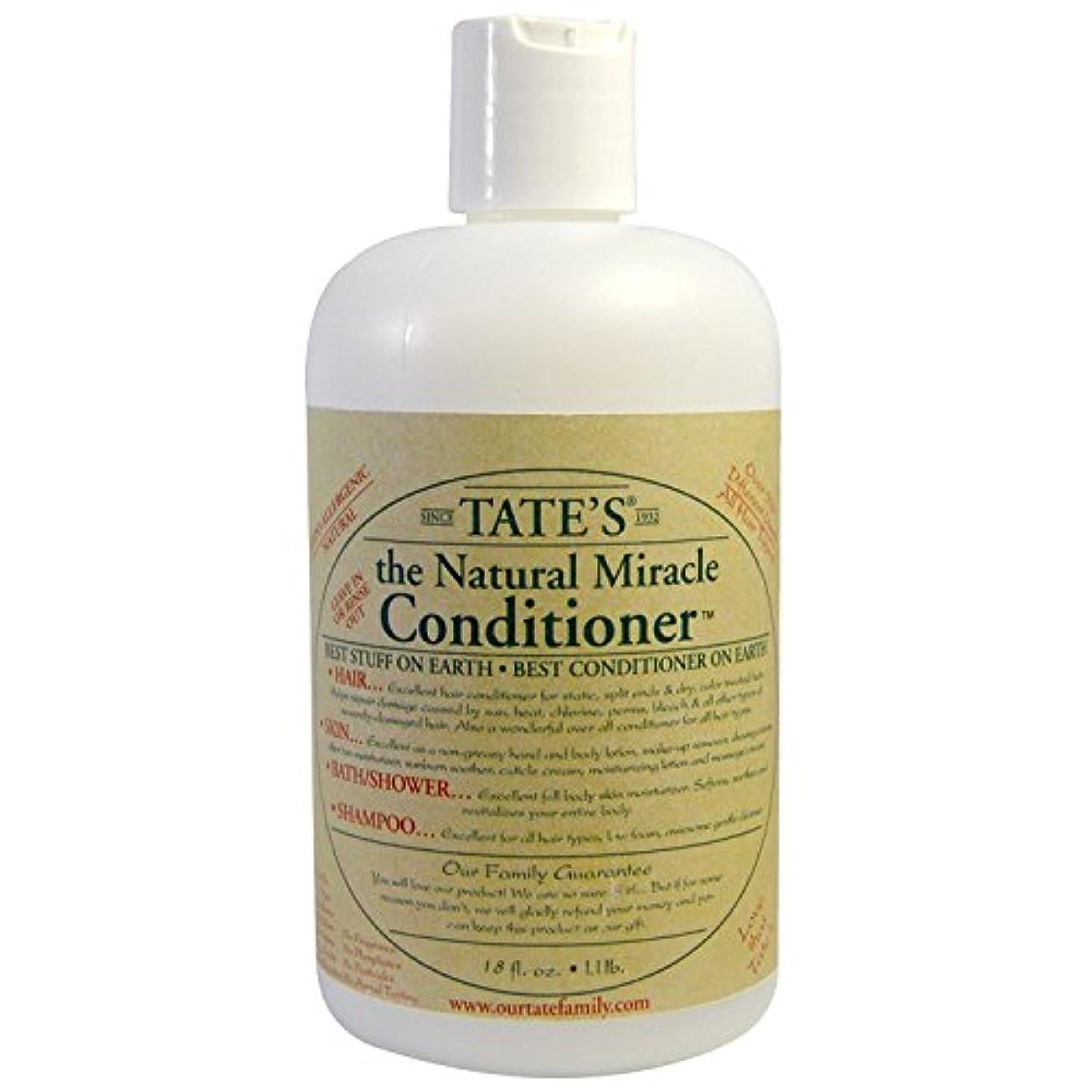 ドリル磨かれた疑いTate's, The Natural Miracle Conditioner, 16 fl oz