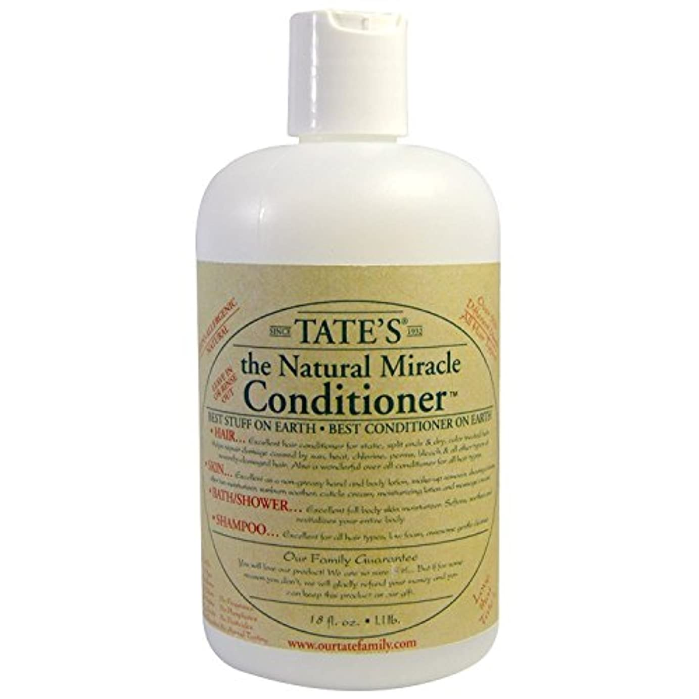 成熟した代表団ミンチTate's, The Natural Miracle Conditioner, 16 fl oz