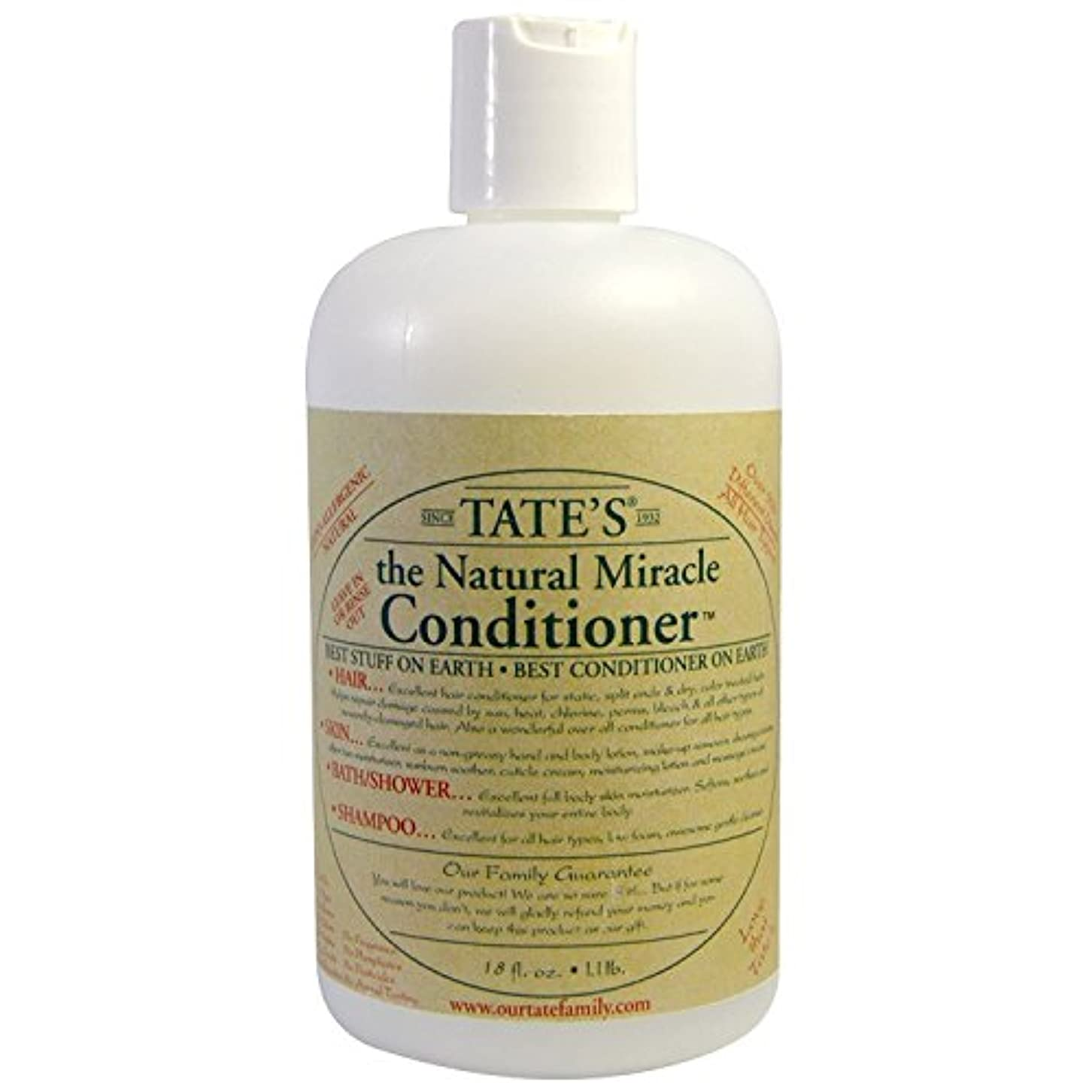 研究所肝アルファベット順Tate's, The Natural Miracle Conditioner, 16 fl oz