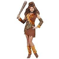 先史時代の穴居人ファンシードレスのための女性Cavewomanコスチュームミディアム英国10-12