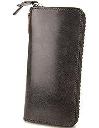 [コルボ] CORBO. 長財布 1LD-0223 アコーディオン型 ラウンドファスナー フェイス ブライドルレザー face Bridle Leather