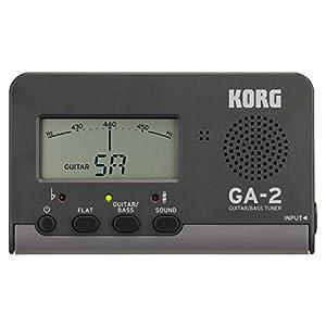 KORG チューナー ギター/ベース用 GA-2