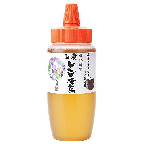 はちみつ 専門店【かの蜂】 国産 九州 レンゲ 蜂蜜 500g 完熟 の 純粋 蜂蜜 (とんがり容器)