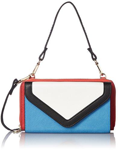 [해외][카슈 카슈] 컬러 블록 지갑 숄더백 01-00-45100/[Kashkash] Color Block Wallet Shoulder Bag 01-00-45100