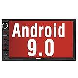 PUMPKIN Android 9.0 カーナビ 7インチ 2din ナビ オーディオ Bluetooth Wifi Google Map GPS OBD2 ミラーリンク 1秒起動 マルチメディア USB SD 18ヶ月保証