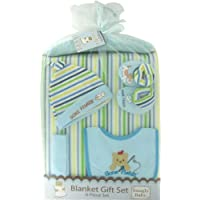 Snugly Baby 6-Piece Blanket Gift Set in Blue - Styles May Vary by Snugly Baby