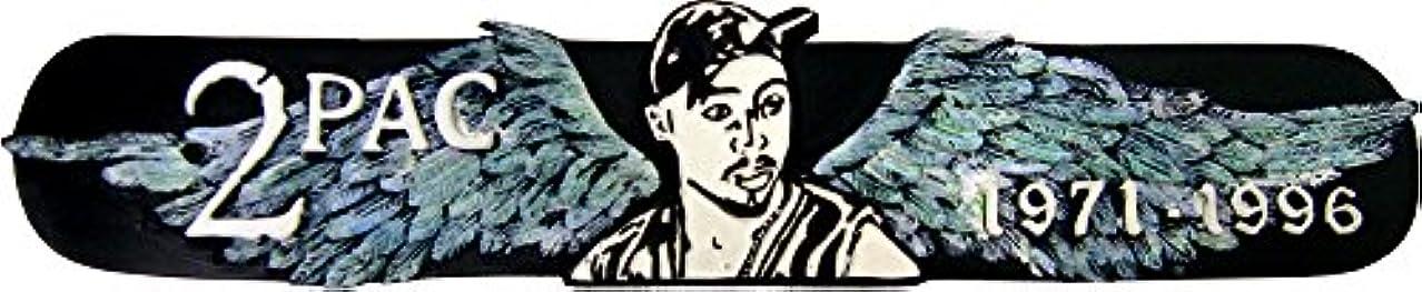冷蔵する松の木傷跡Tupac Incense Burner ~ 1971 – 1996 ~翼