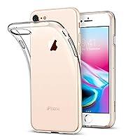 iPhone8 ケース クリア ESR iPhone7 カバー ソフトTPU [衝撃吸収 薄型 超軽量 傷防止 指紋防止 ワイヤレス充電に影響なし] クリスタル 高透明 iPhone8/iPhone7通用保護ケース(ホワイト)