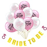 FLAMEER 結婚式 独身パーティー 装飾セット バナー バルーン 風船 記念日 4タイプ選べ - #1