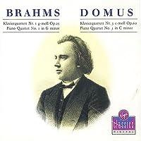 Brahms:Piano Qts. 1 & 3