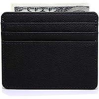 Slim Leather business Credit Card Case Card Holder Wallet for Men & Women