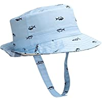 13a93d16a6be Hisharry Baby Toddler Kids Boy Girl Bucket Reversible Sun Protection Animal  Hat