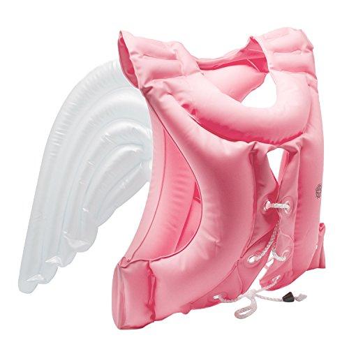 [해외]MRG Angel Wings Swim vest 천사의 수영 조끼 어린이 ~ 성인 어린이 깃털있는 구명 조끼 튜브 플로트/MRG Angel Wings Swim vest Angel`s Swim Best Children`s Adult Kids` Life with Life Jacket Floating Ring Float