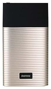 REMAX PUFUME(パフューム) 10000mAh 大容量モバイルバッテリー LightningケーブルiPhoneも モバイルバッテリーも充電できる ポケモンGOに最適なモバイルバッテリー(ゴールド) RPP-27-GD