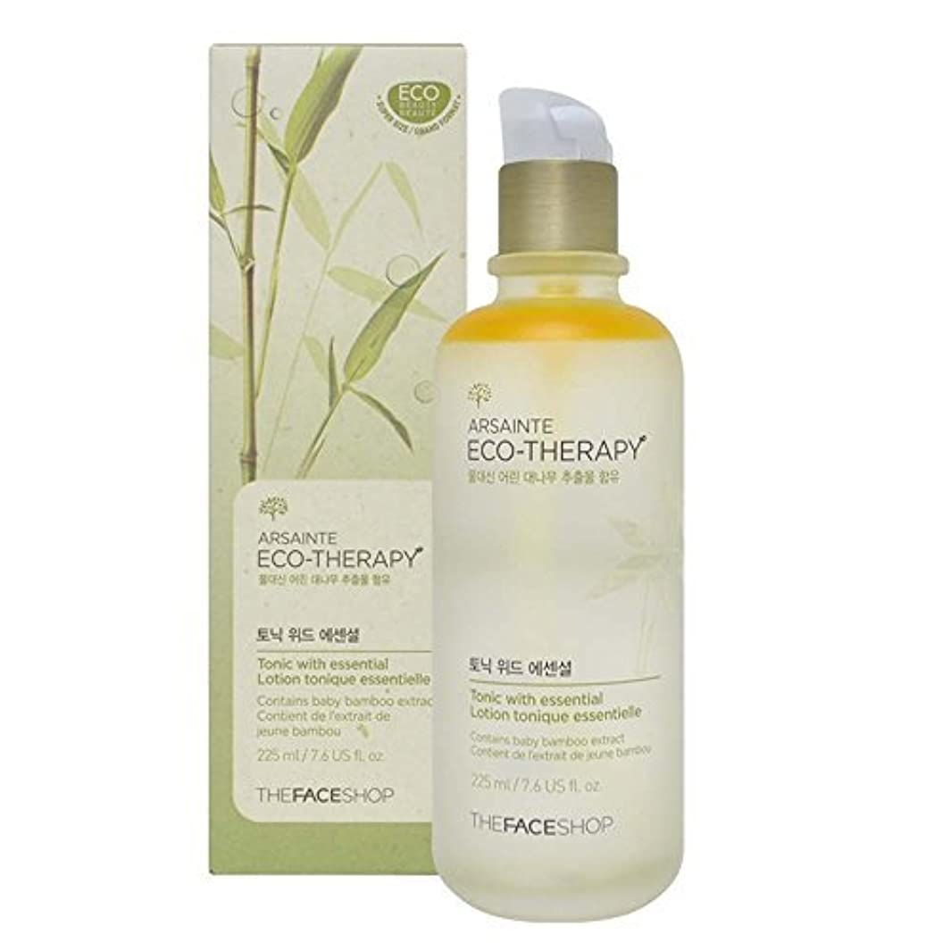 恐れる幸運なことに傷つけるThe Face shop Arsainte Ecotheraphy Tonic with essential Big Size 225ml [並行輸入品]