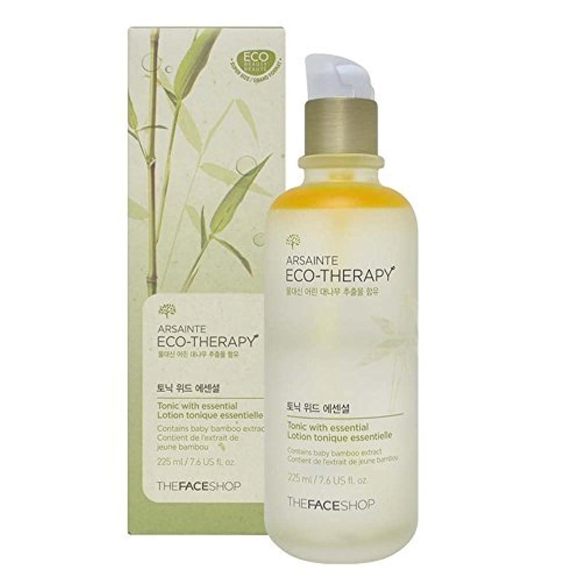 決済インタビューペルメルThe Face shop Arsainte Ecotheraphy Tonic with essential Big Size 225ml [並行輸入品]