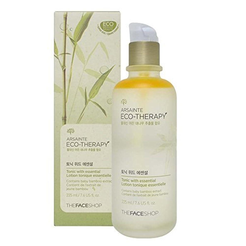 不純無能紛争The Face shop Arsainte Ecotheraphy Tonic with essential Big Size 225ml [並行輸入品]