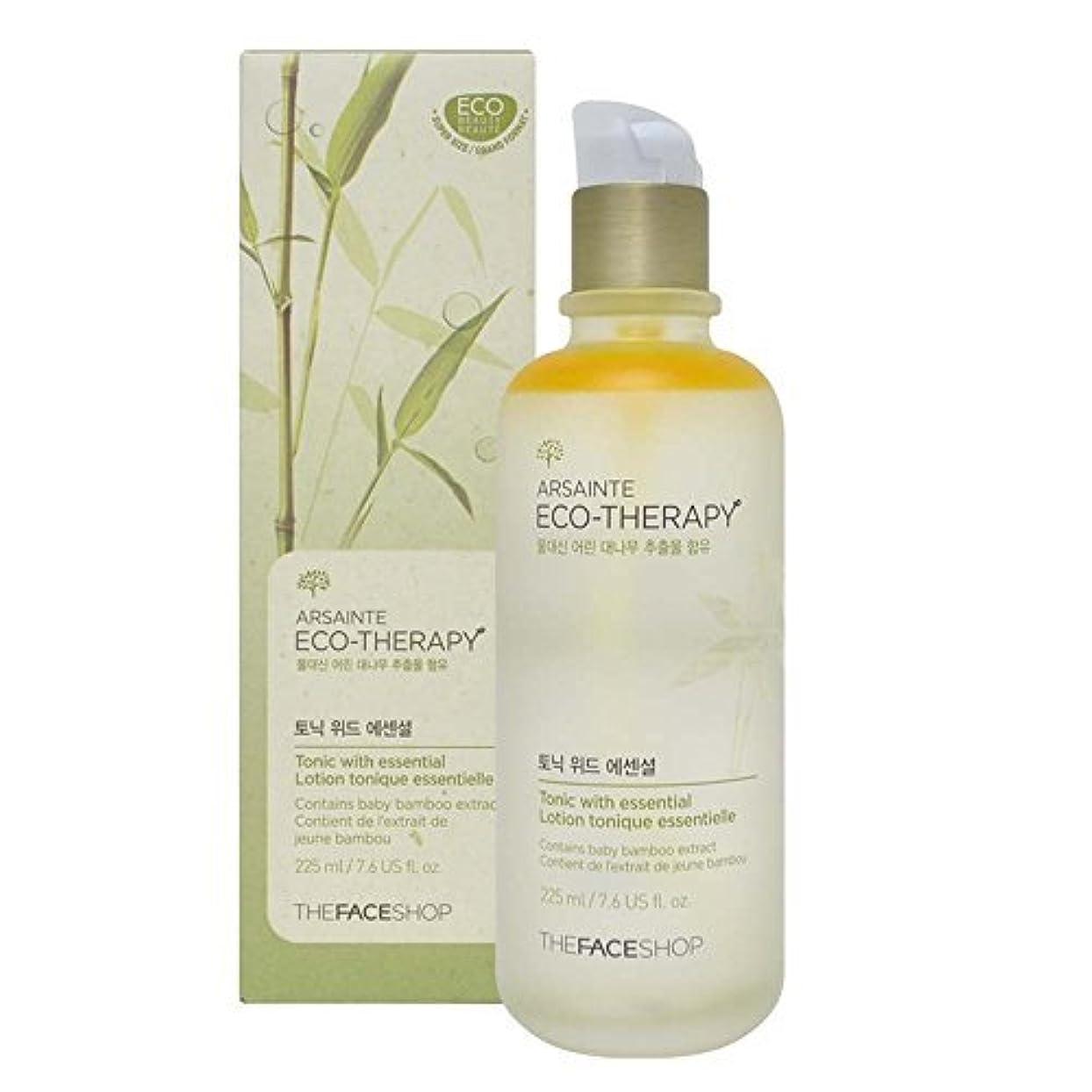 印をつける傘間欠The Face shop Arsainte Ecotheraphy Tonic with essential Big Size 225ml [並行輸入品]
