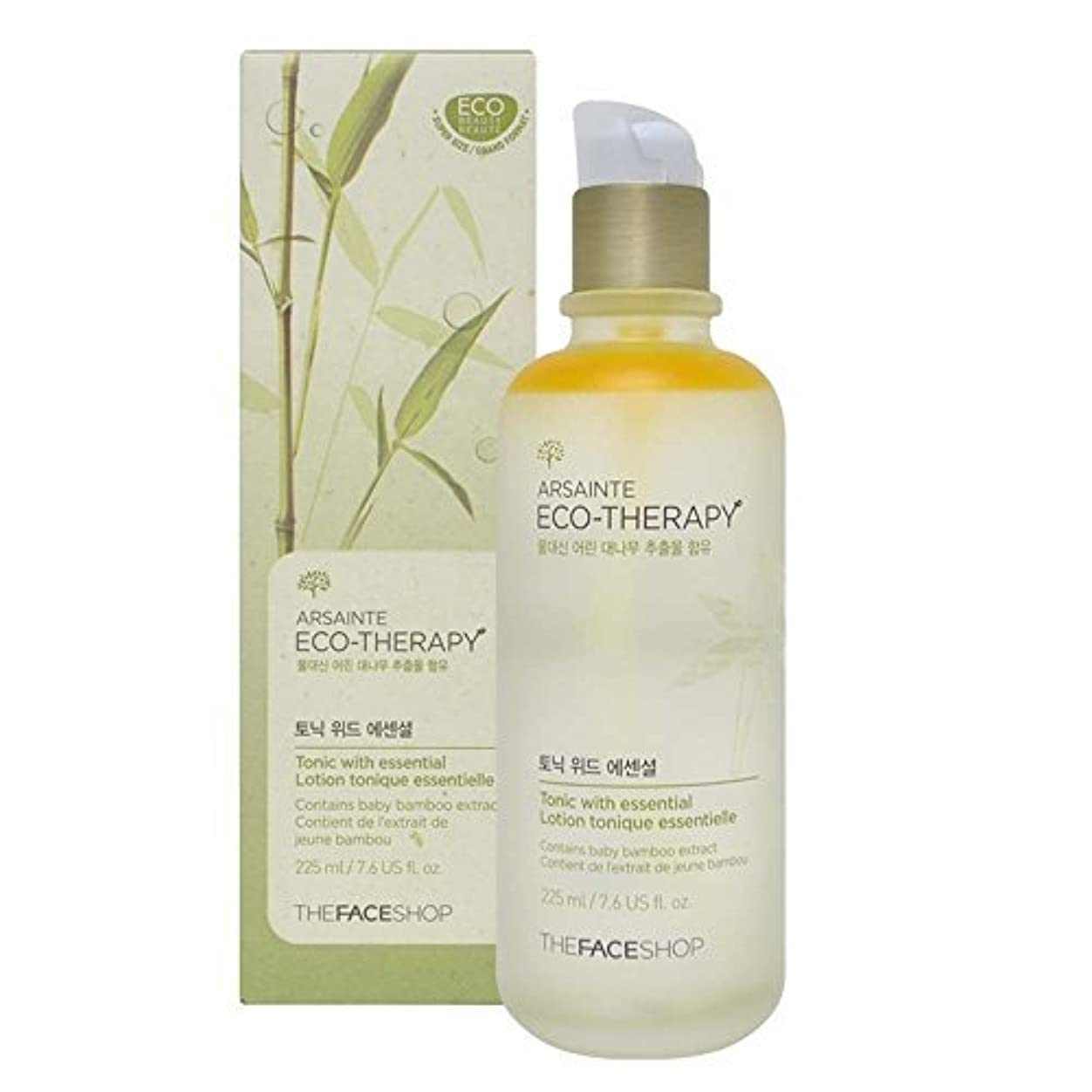 The Face shop Arsainte Ecotheraphy Tonic with essential Big Size 225ml [並行輸入品]