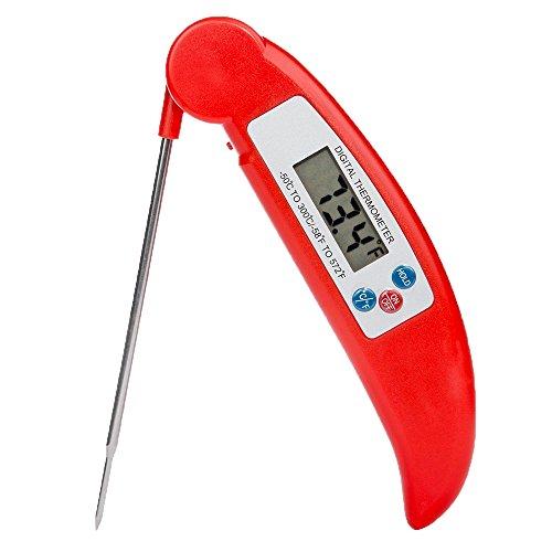 MWHW クッキング温度計 料理用温度計 キッチン調理用温度計 デジタル 小型
