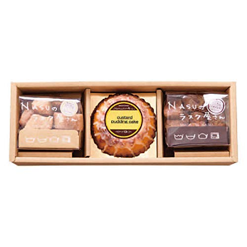 NASUのラスク屋さん プリンケーキ&ラスク お中元お歳暮ギフト贈答品プレゼントにも人気