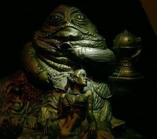 Star Wars Return of The Jedi Jabba The Hutt Statuette / スター・ウォーズ ジャバ・ザ・ハット スタチュー