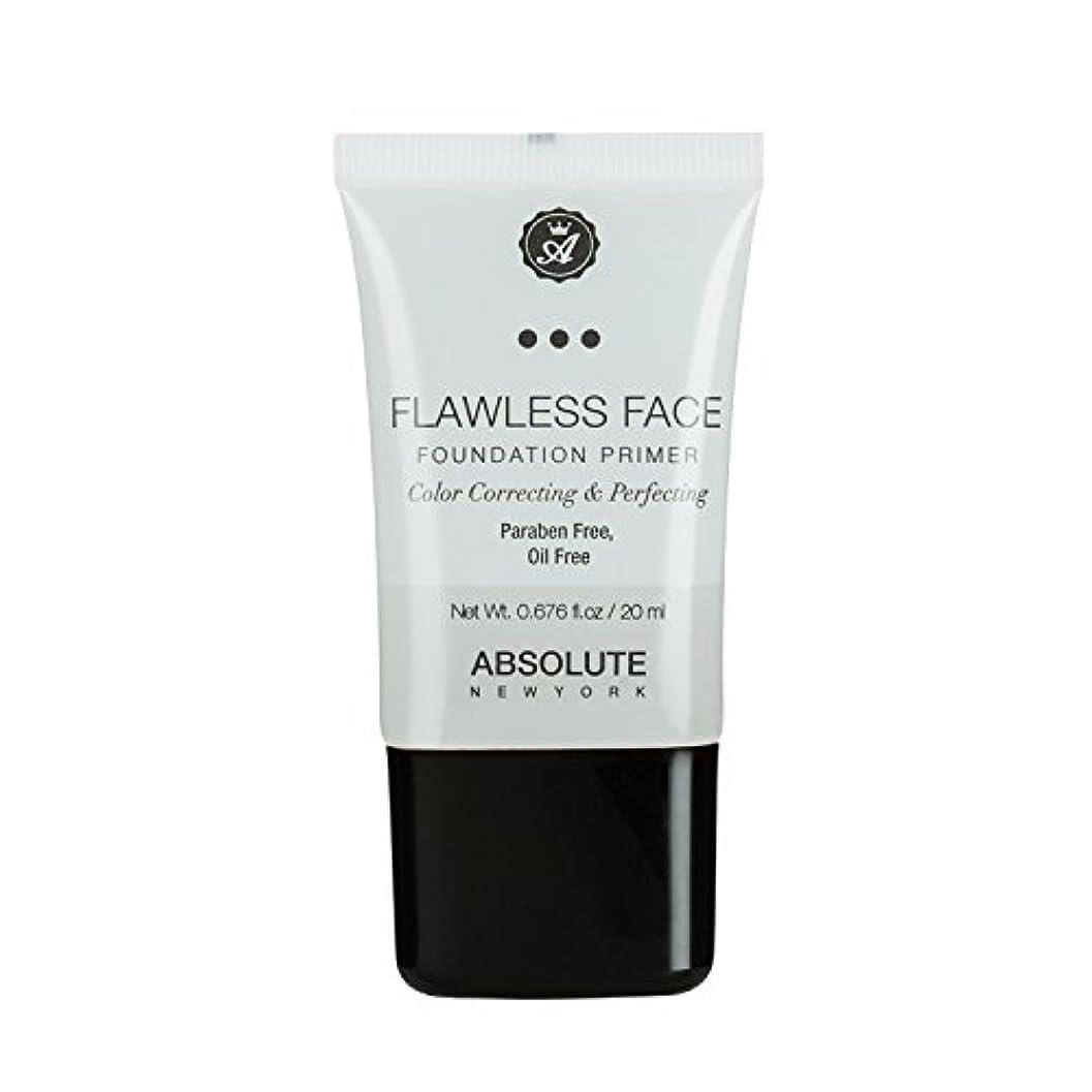 社会学お手伝いさん暴動(3 Pack) ABSOLUTE Flawless Foundation Primer - Clear (並行輸入品)