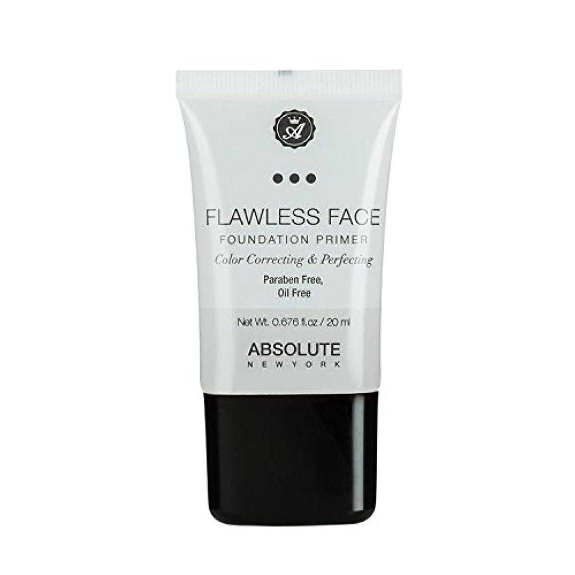 乞食誰かナインへ(3 Pack) ABSOLUTE Flawless Foundation Primer - Clear (並行輸入品)