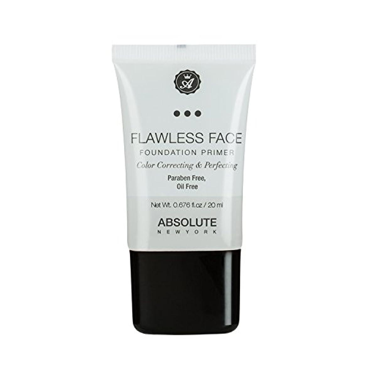 無一文全体に枝(3 Pack) ABSOLUTE Flawless Foundation Primer - Clear (並行輸入品)