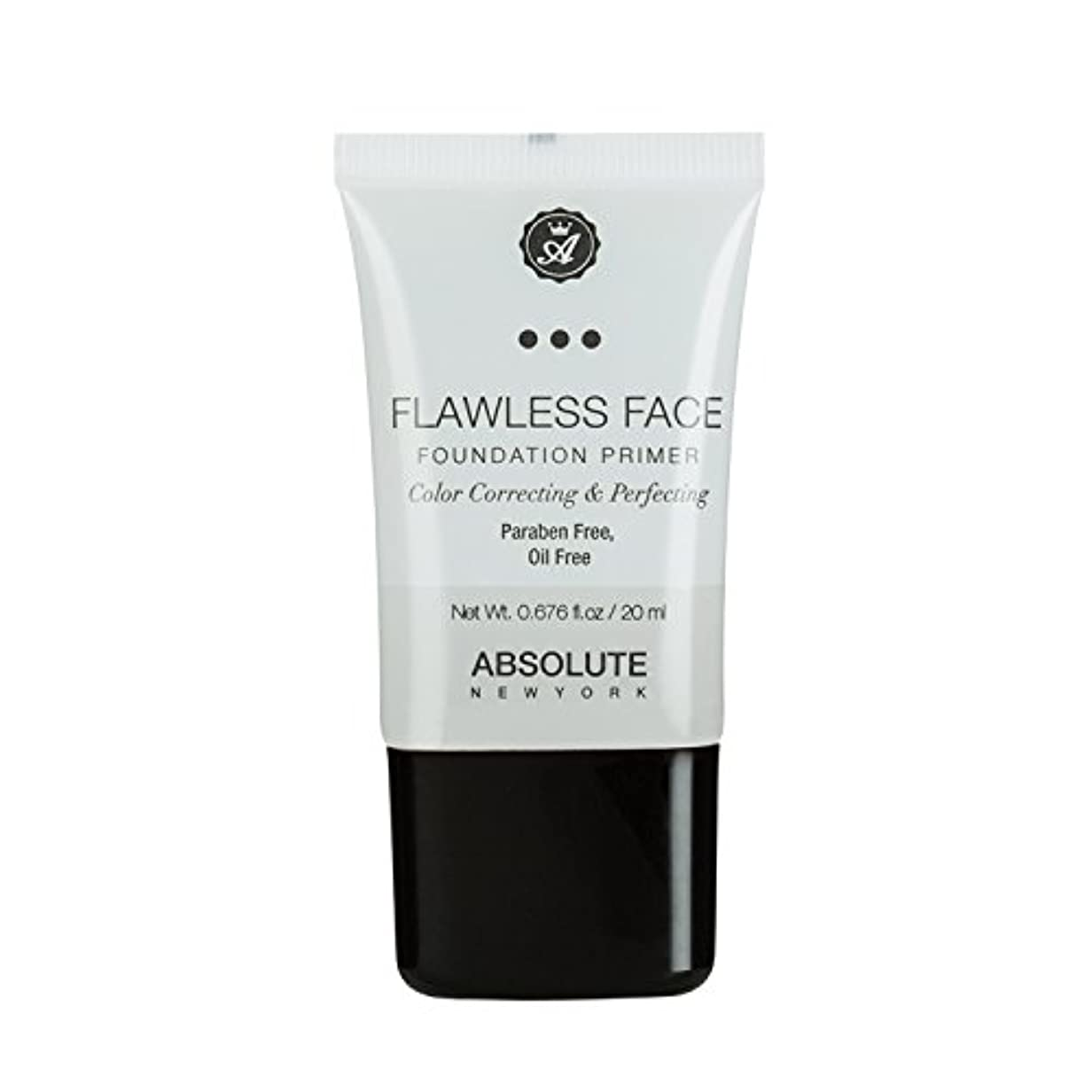 海外過敏な人物(3 Pack) ABSOLUTE Flawless Foundation Primer - Clear (並行輸入品)