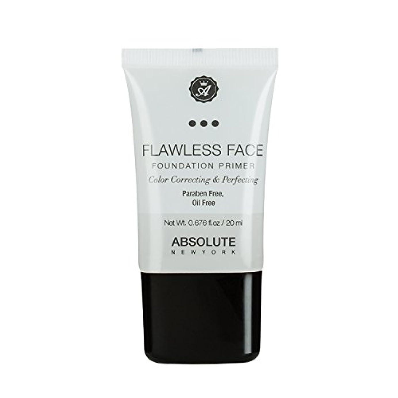 注意閲覧する思いつく(3 Pack) ABSOLUTE Flawless Foundation Primer - Clear (並行輸入品)