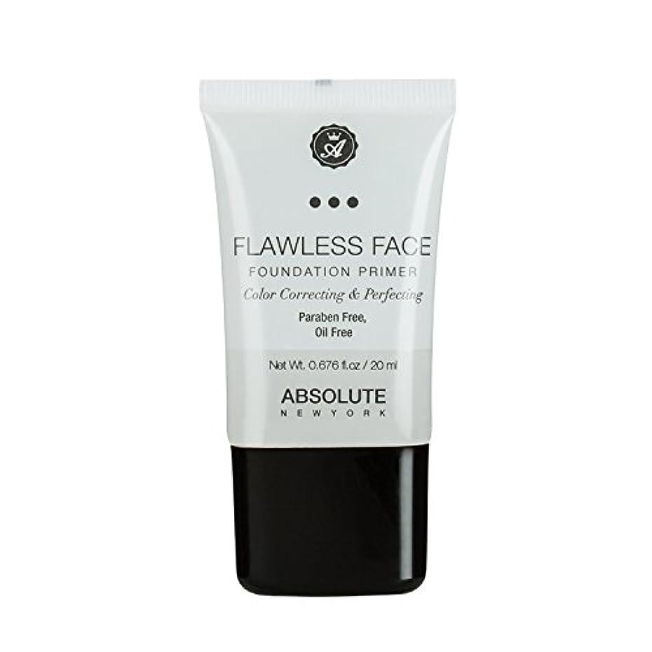 特許コロニアルエクスタシー(3 Pack) ABSOLUTE Flawless Foundation Primer - Clear (並行輸入品)