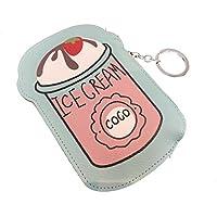 かわいい コインケース 小銭入れ ICE CREAM キーホルダー