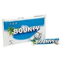 バウンティミルクチョコレート7×57グラム - Bounty Milk Chocolate 7 x 57g [並行輸入品]