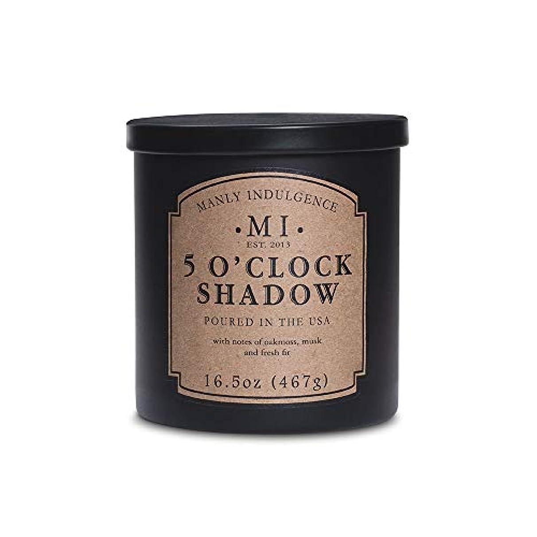 側寄生虫何でもManly Indulgence ミッドナイト香り付きキャンドル 芯1個 16.5オンス 16.5 oz ブラック 1