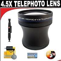 4.5X Proffessional HD Mark II スペシャルエディション 望遠レンズ Samsung SMX-F44、F43、デジタルメモリカムコーダー用