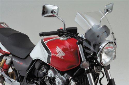 デイトナ(DAYTONA) エアロバイザー ブラストバリアー X用車種専用ステー X4 CB900ホーネット CB750など 61380