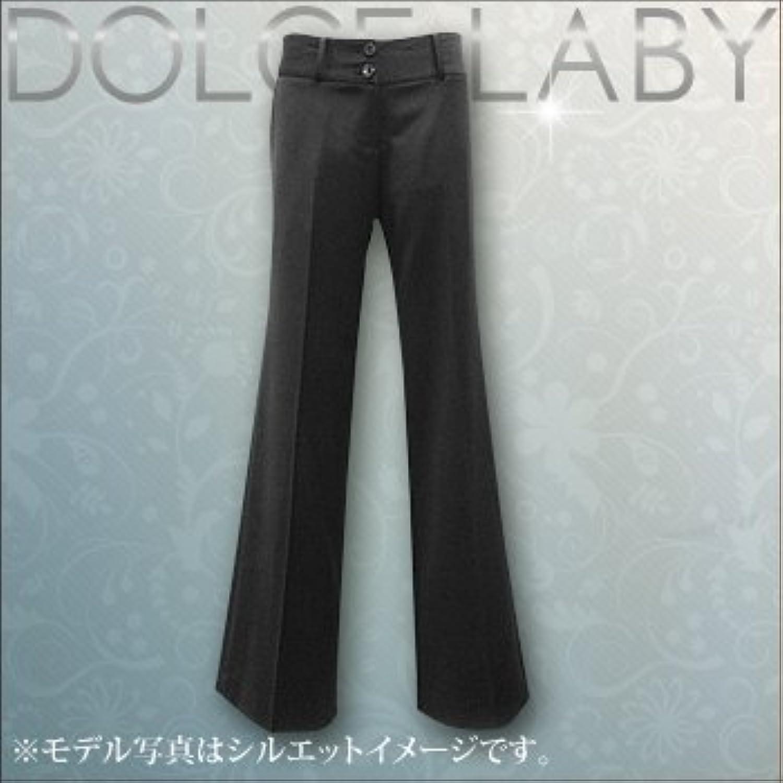 (ドルチェルビ) DOLCE LABY レディース スーツ ヒップハングバギーワイドパンツ パンツ 単品 のみ 生地:5.グレー 織柄(m26914/TK)