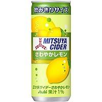 アサヒ飲料 三ツ矢サイダーさわやかレモン 缶 250ml×20本