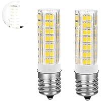 Ylaide LED電球 E17口金 6W 650lm 40W相当 調光 昼白色色 セラミックス 調光対応 全方向広配光 トウモロコシライト 2個入り (昼白色 6000K)